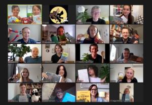 Zoom-Gruppenfoto Startworkshop Future Lectures 2020