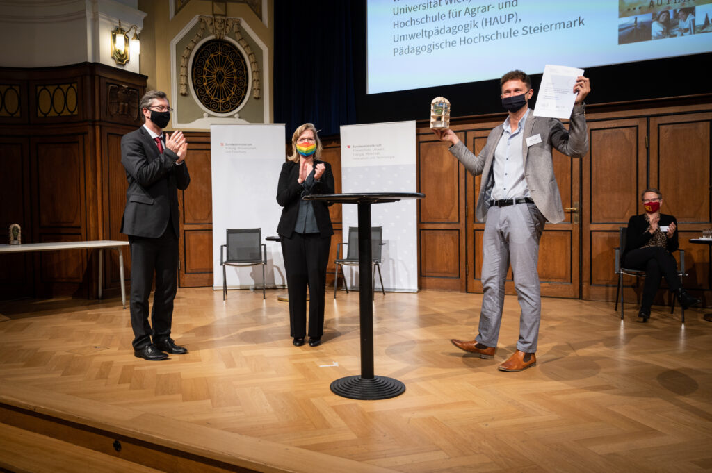 Verleihung Sustainability Award 2020