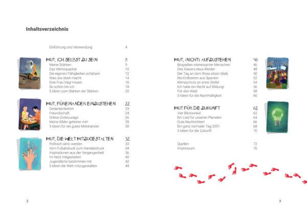 Inhaltsverzeichnis Tanz aus der Reihe