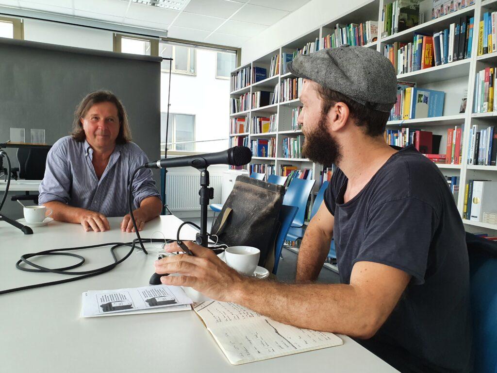 Podcast-Interview mit Hans Holzinger