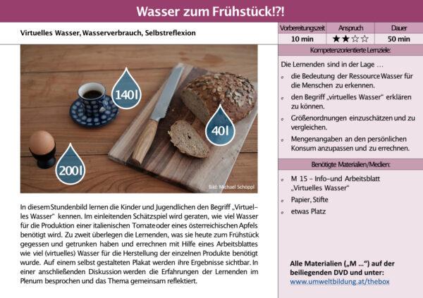 the BOX 10–14 Stundenbild 1a