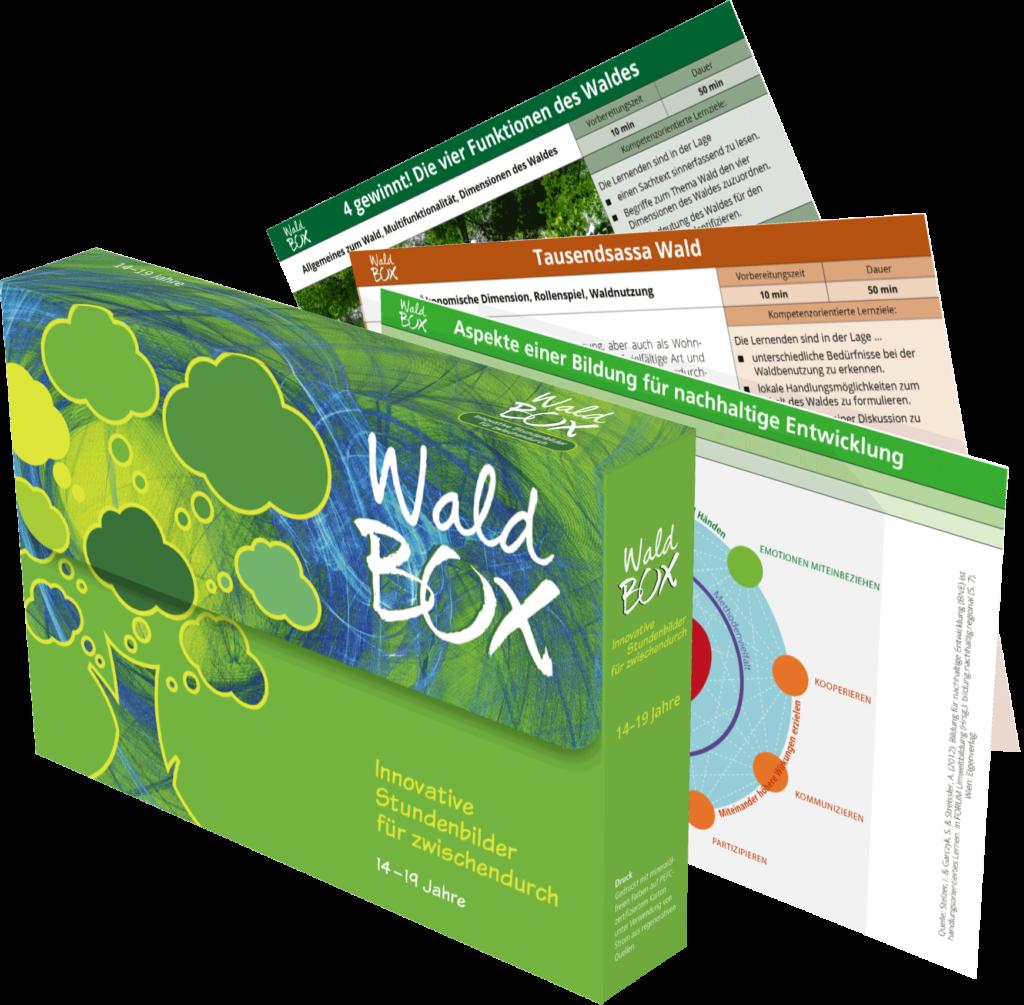 Wald BOX Cover und Stundenbilder