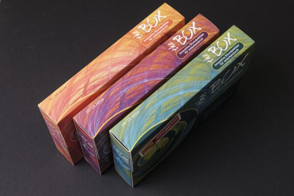 Produktbild the Box alle 3 Ausgaben